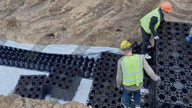 雨水收集井的标准做法