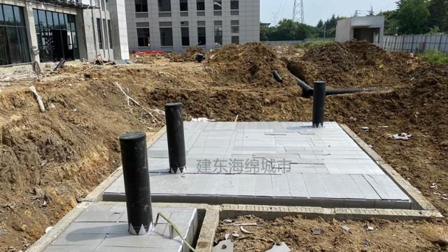 武汉良品铺子总部办公楼雨水收集