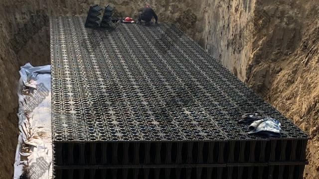 北京国门雨水收集项目