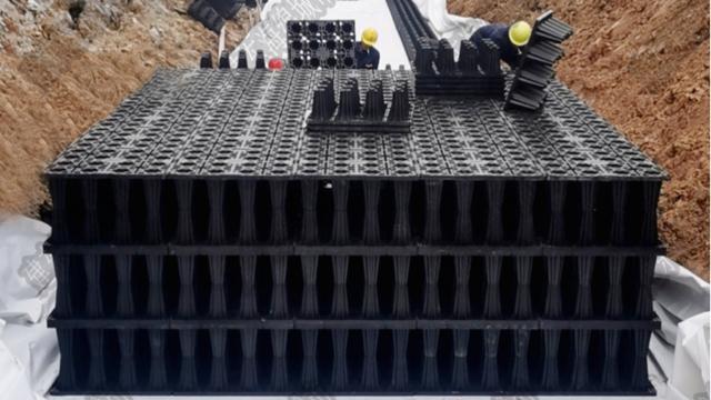 蓄水模块的施工工法及其原理