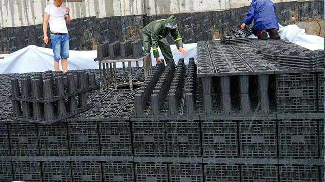 句容人民医院雨水截污装置案例2