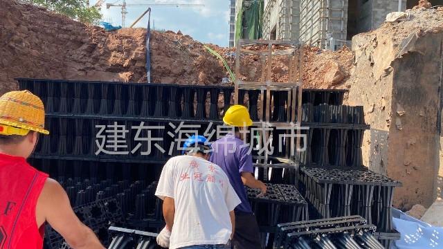 武汉江夏市民之家雨水收集