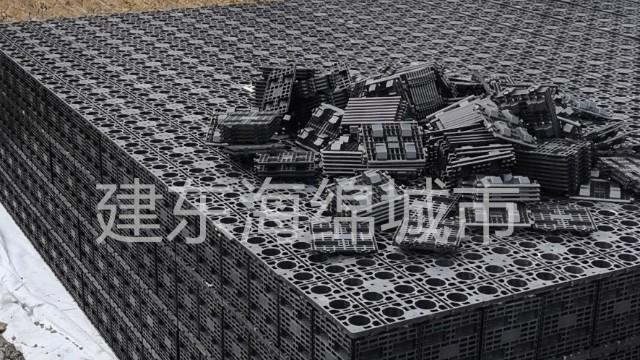 南京秦淮风光带雨水收集