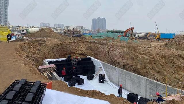 郑州TCL华中电子商务配送中心雨水收集