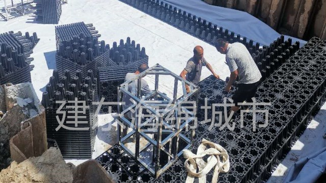 成都智慧海派成都标准化厂房雨水收集工程