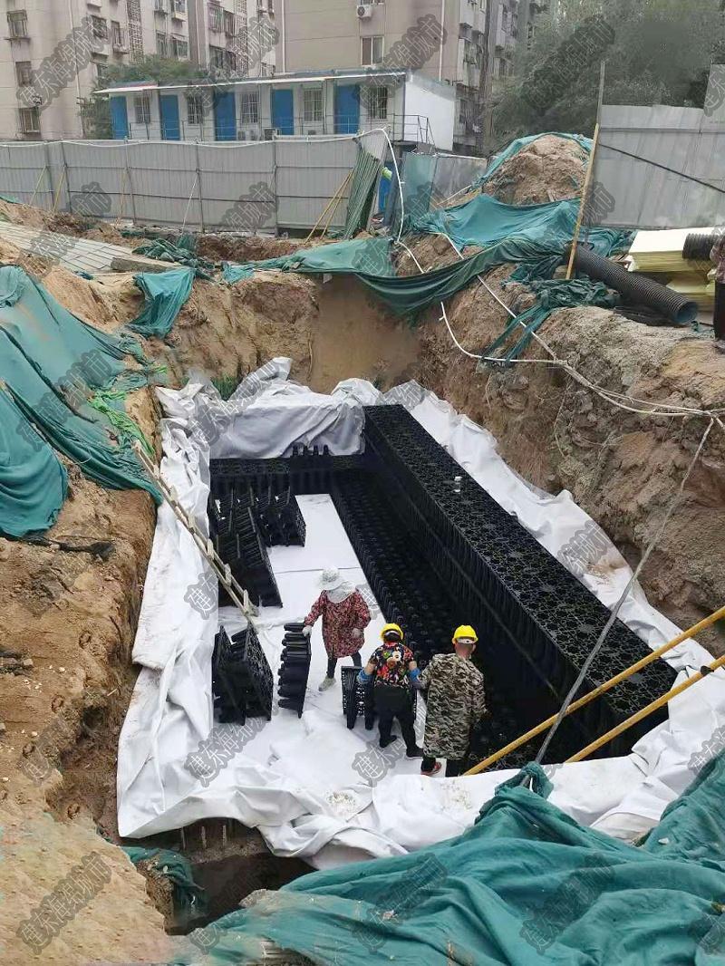 郑州泉舜上城雨水收集项目