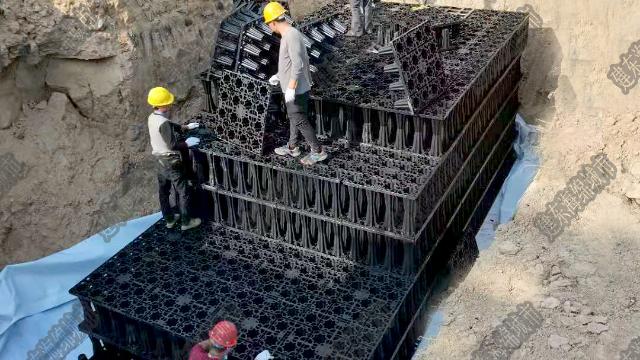 PP模块雨水收集池的做法是什么?